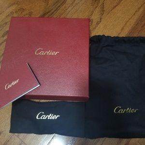 Cartier belt bag n gift box authentic